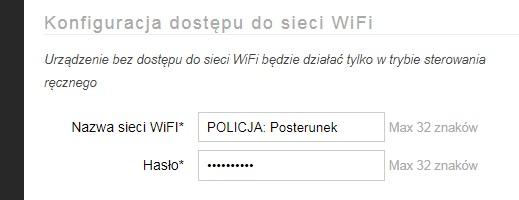 AFE Firmware: Panel Konfiguracyjny: WiFi