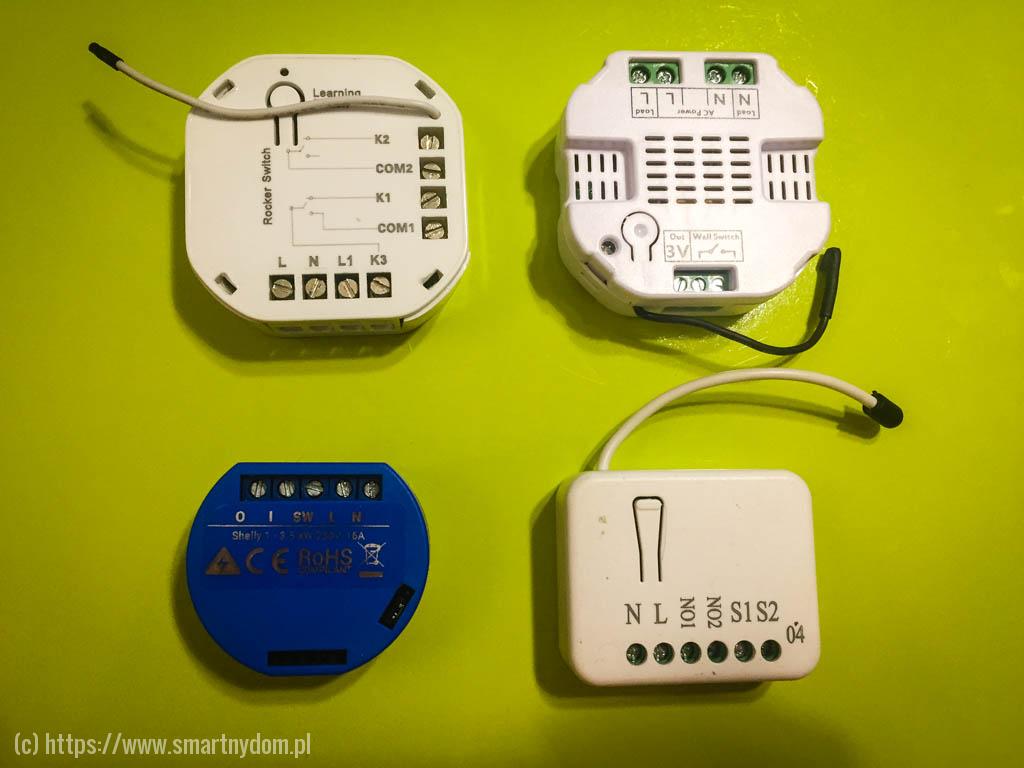 Shelly 1 i przełączniki z-wave