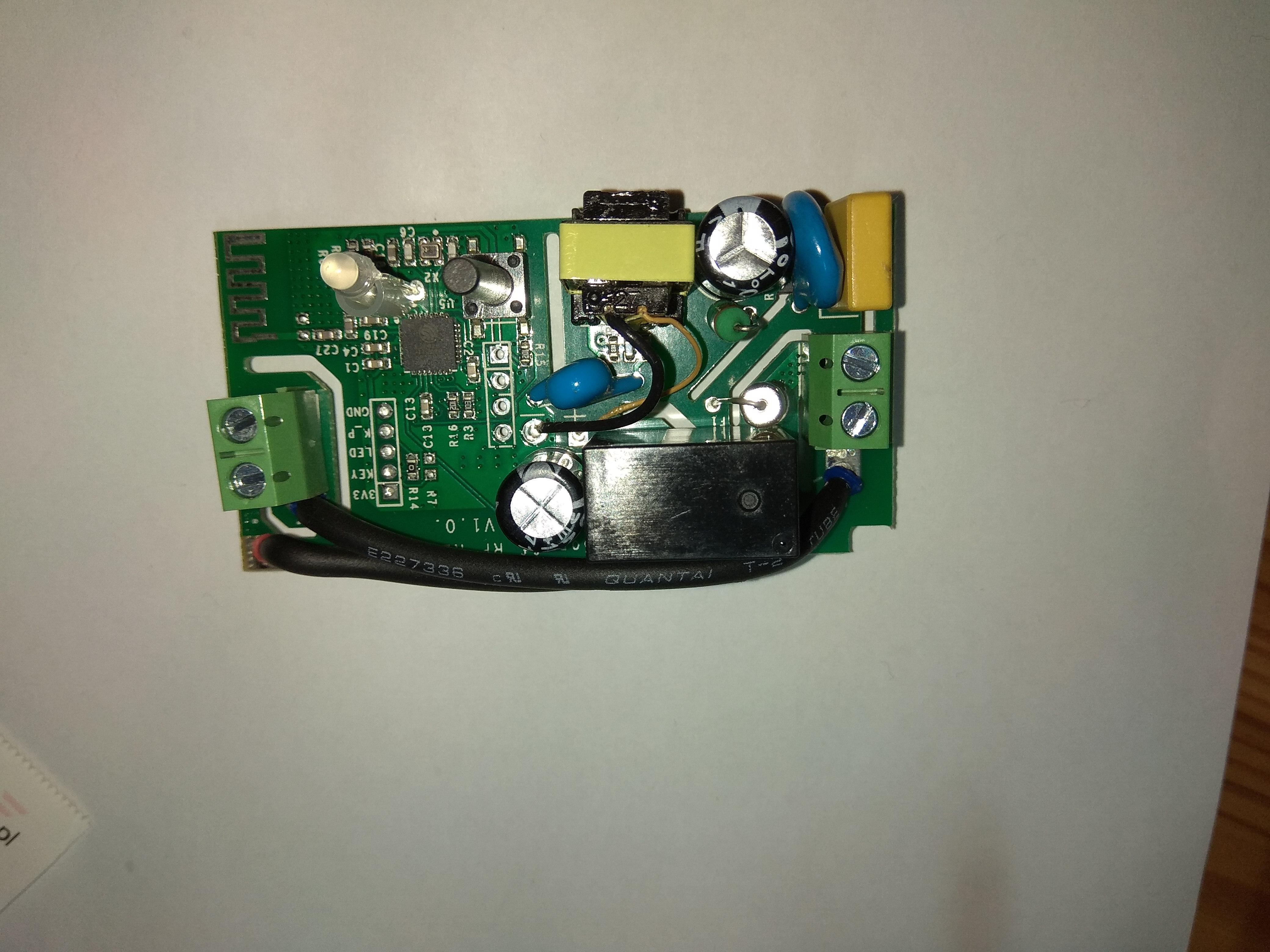 Sonoff RF R2 POWER jako wyjscie beznapięciowe – Urządzenia Sonoff od